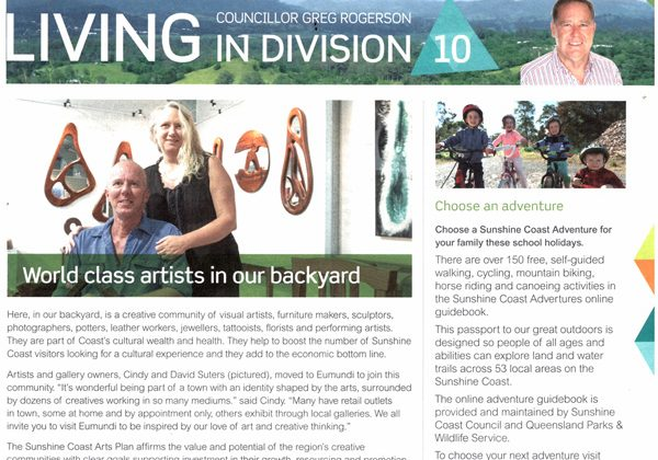 Living in Division 10 Feature by Cr Greg Rogerson