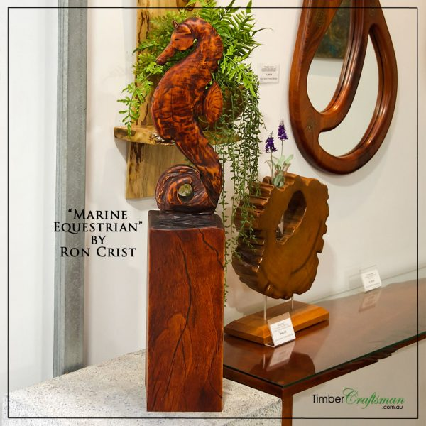 marine-equestrian-sculpture-by-ron-crist-available-at-david-suters-timbercraftsman-showroom-gallery