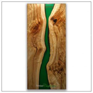 australian-camphor-laurel-pearl-emerald-green-resin-seam-timber-art-by-david-suters-timbercraftsman